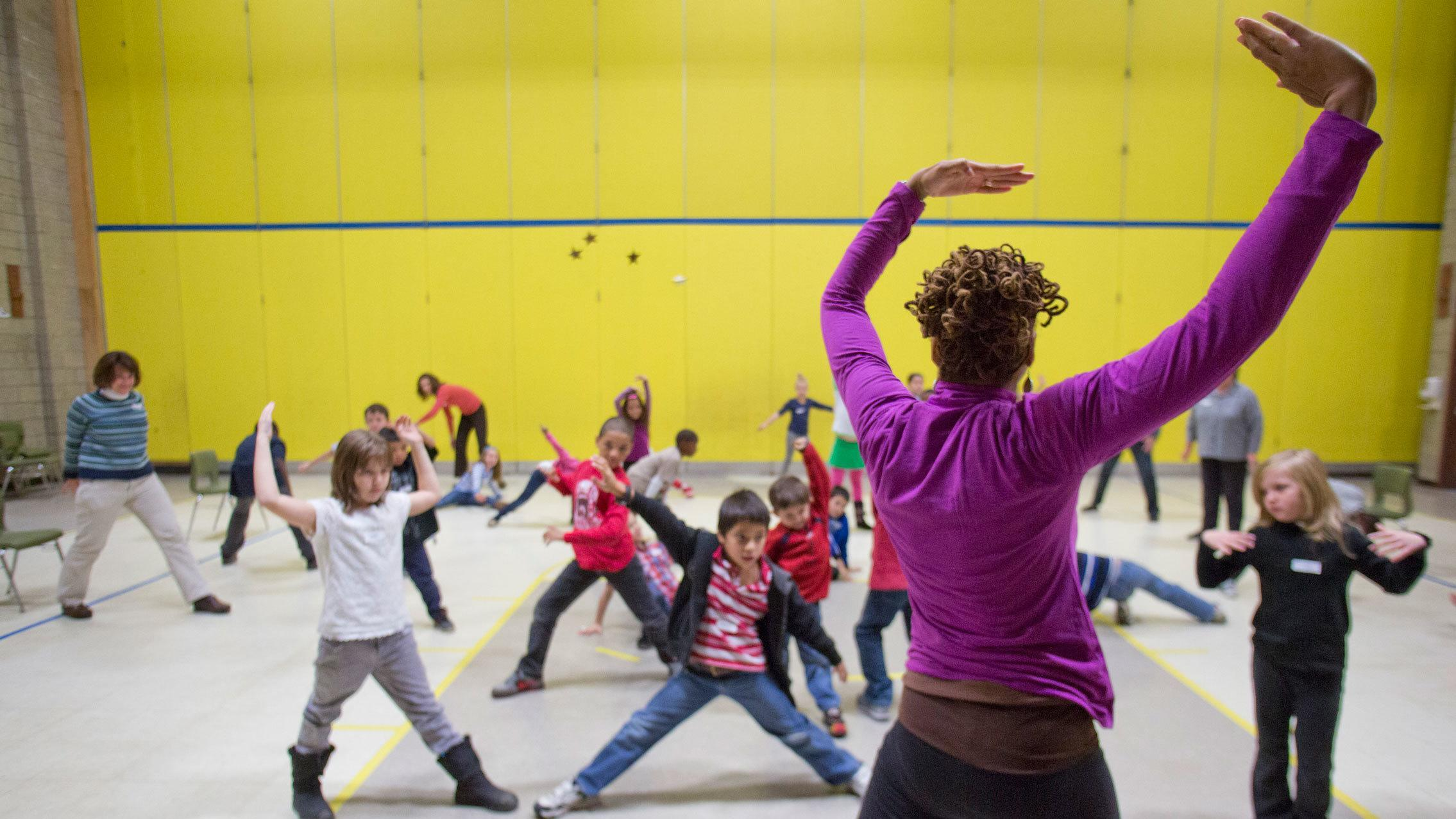 Building Community with Curriculum in Motion at Jacob's Pillow; Photo Scott Barrow