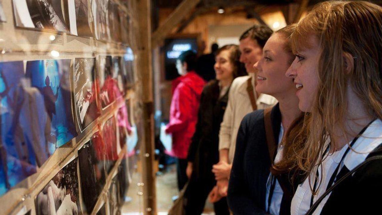 Annie Leibovitz exhibit; photo Christopher Duggan