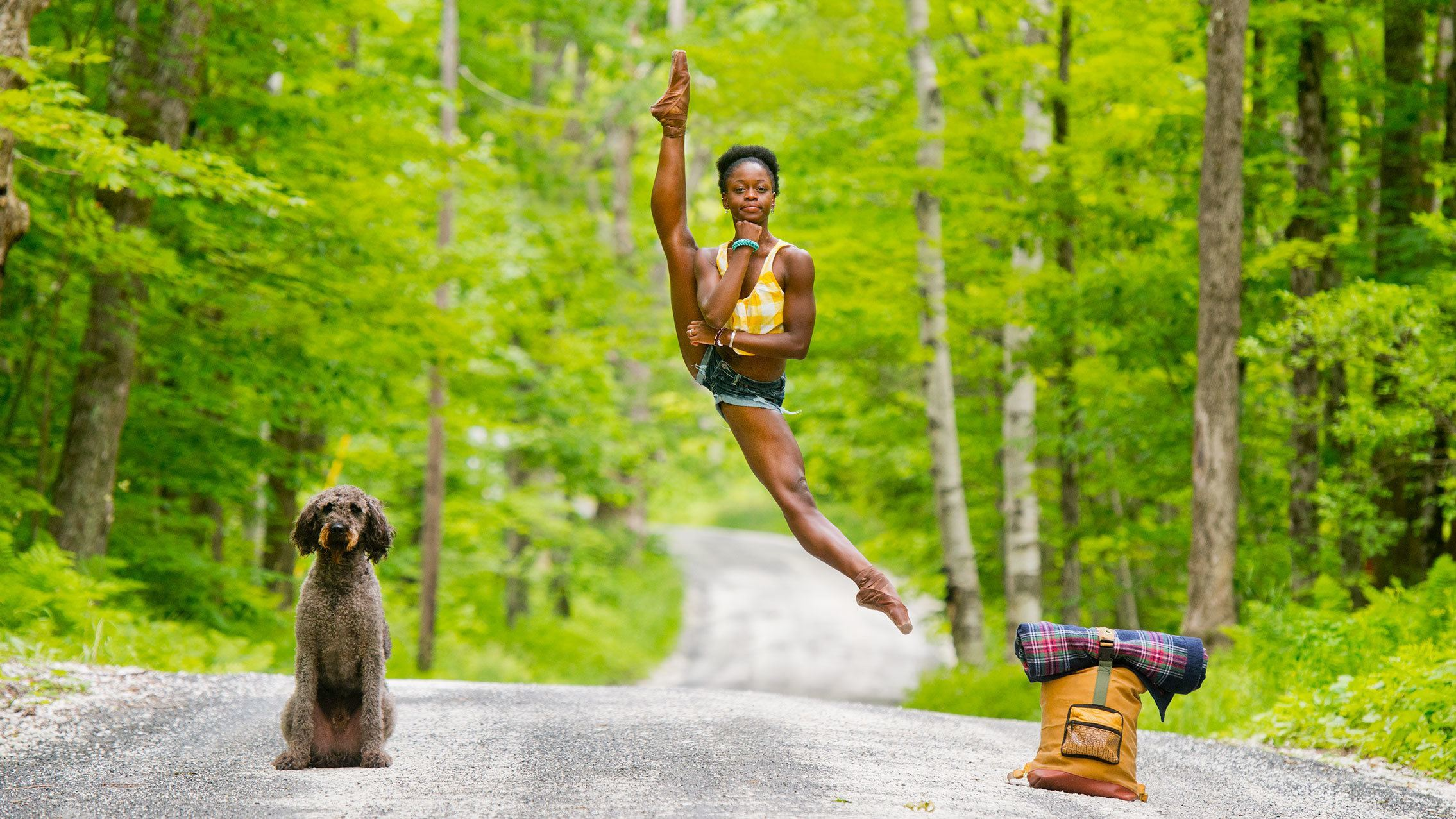 Michaela DePrince; photo Jordan Matter