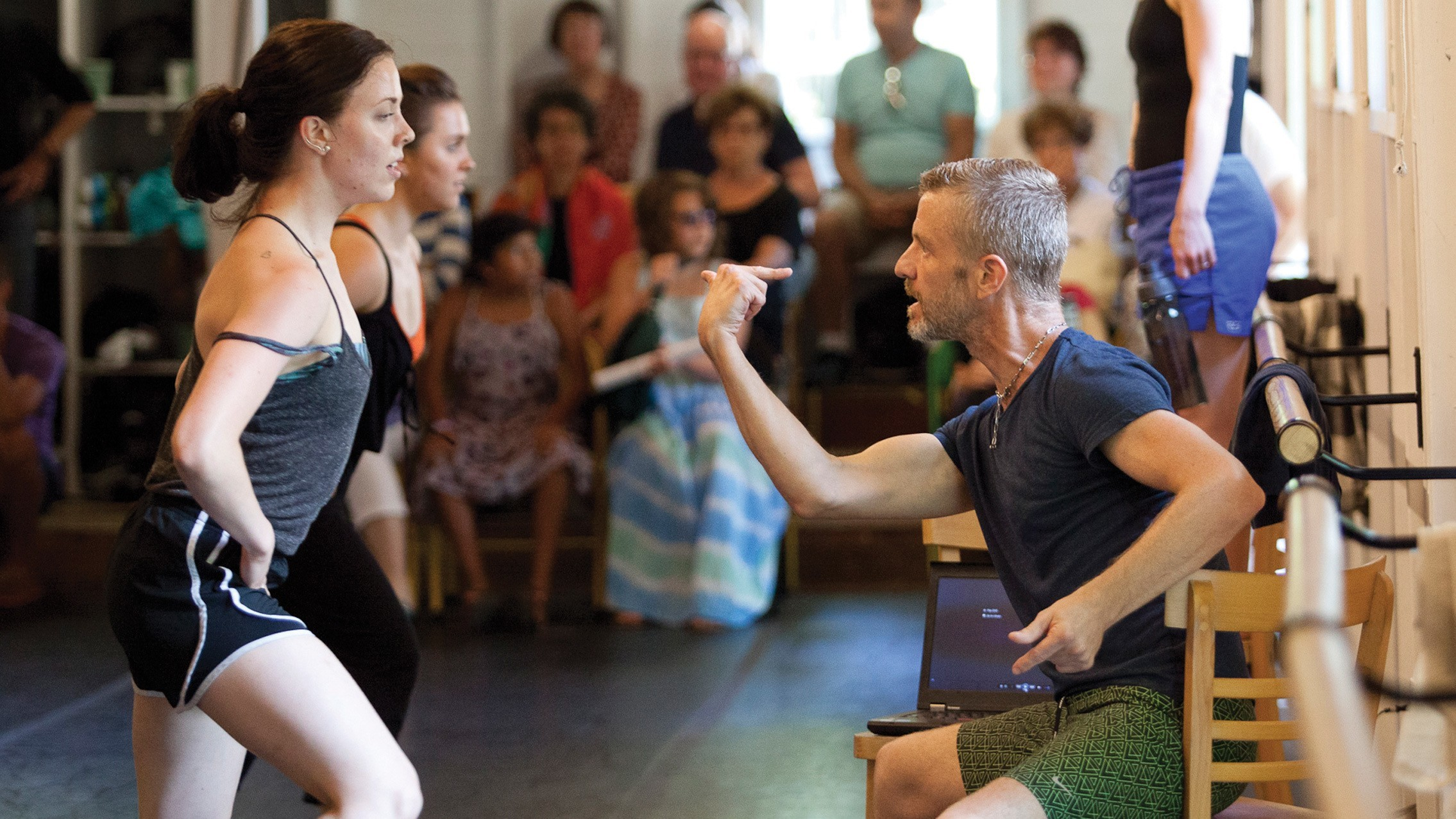 The School at Jacob's Pillow; Photo by Jamie Kraus
