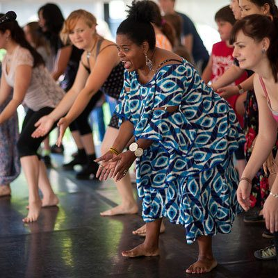 African Dance; photo Christopher Duggan