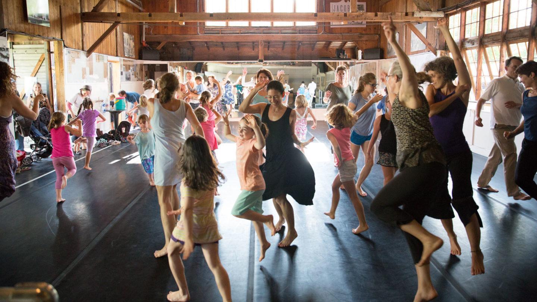 Families Dance Together; photo Hayim Heron