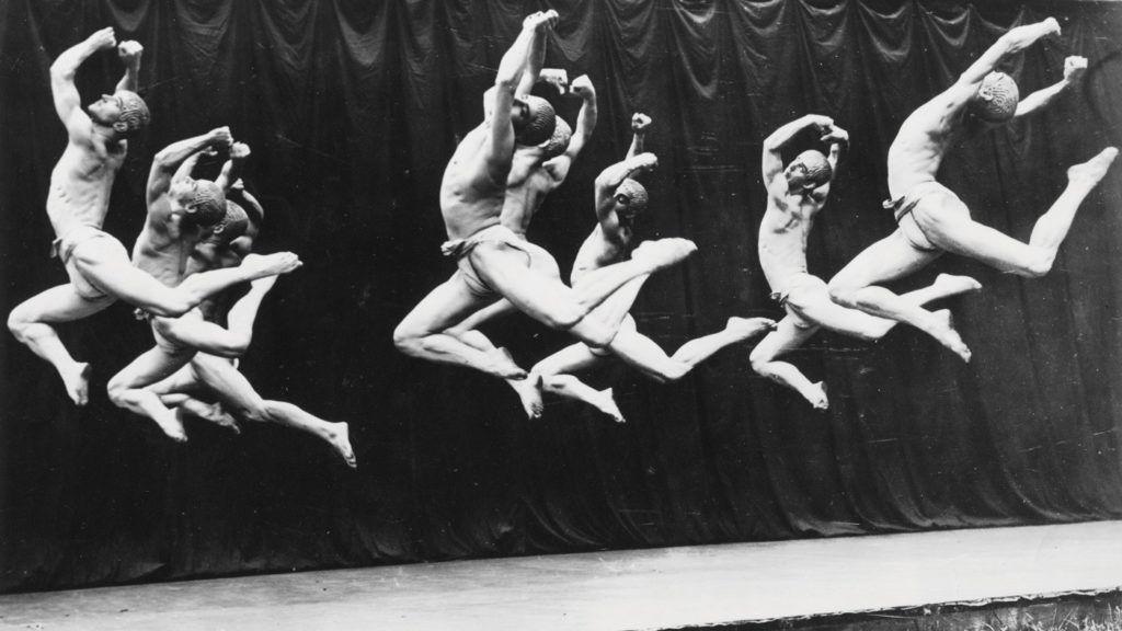 Ted Shawn & His Men Dancers; photo Shapiro Studios.