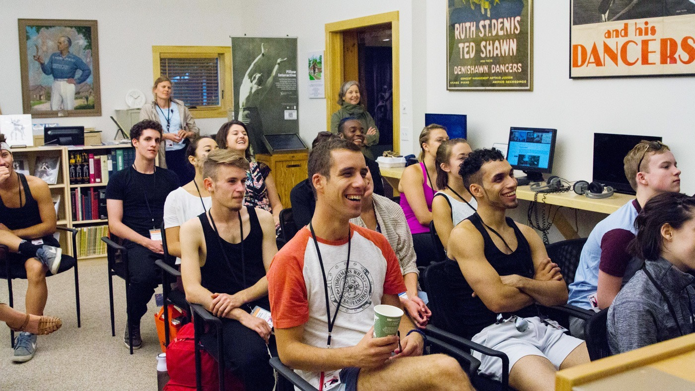 Student Life at The School at Jacob's Pillow, photo Morah Geist