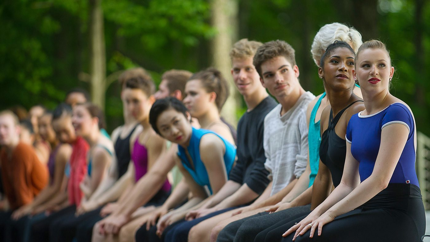 The School at Jacob's Pillow; Photo by Christopher Duggan