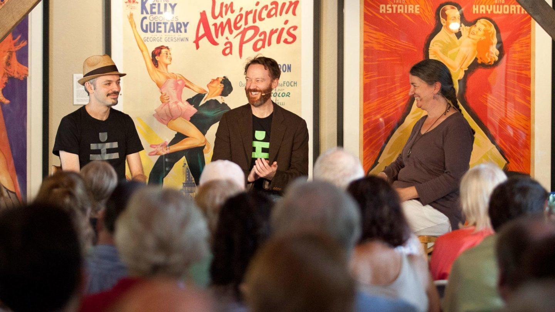 Colin Jacobsen, John Heginbotham, and Maura Keefe; photo Jamie Kraus