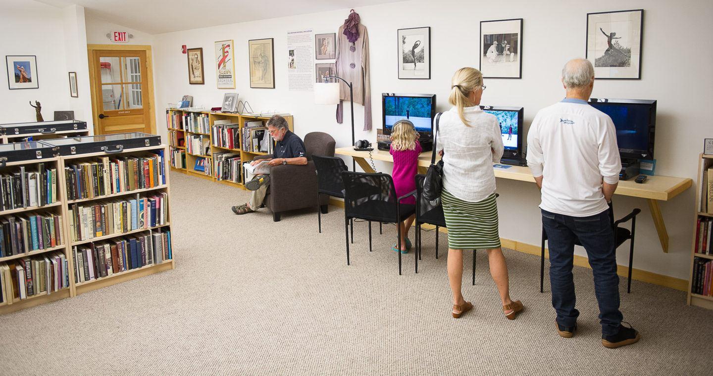 Norton Owen Reading Room; photo Christopher Duggan