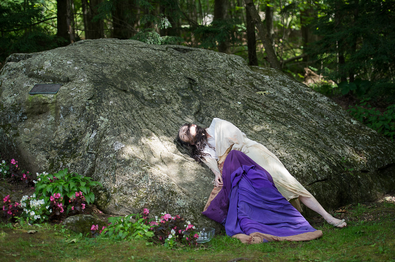 Eiko Otake in A Body at the Pillow; photo Christopher Duggan