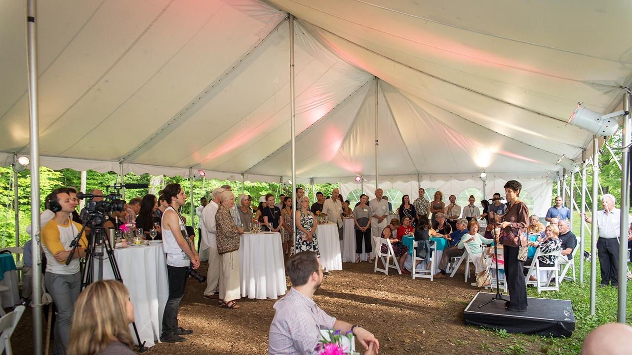 Ted Shawn Circle Reception; photo David Dashiell