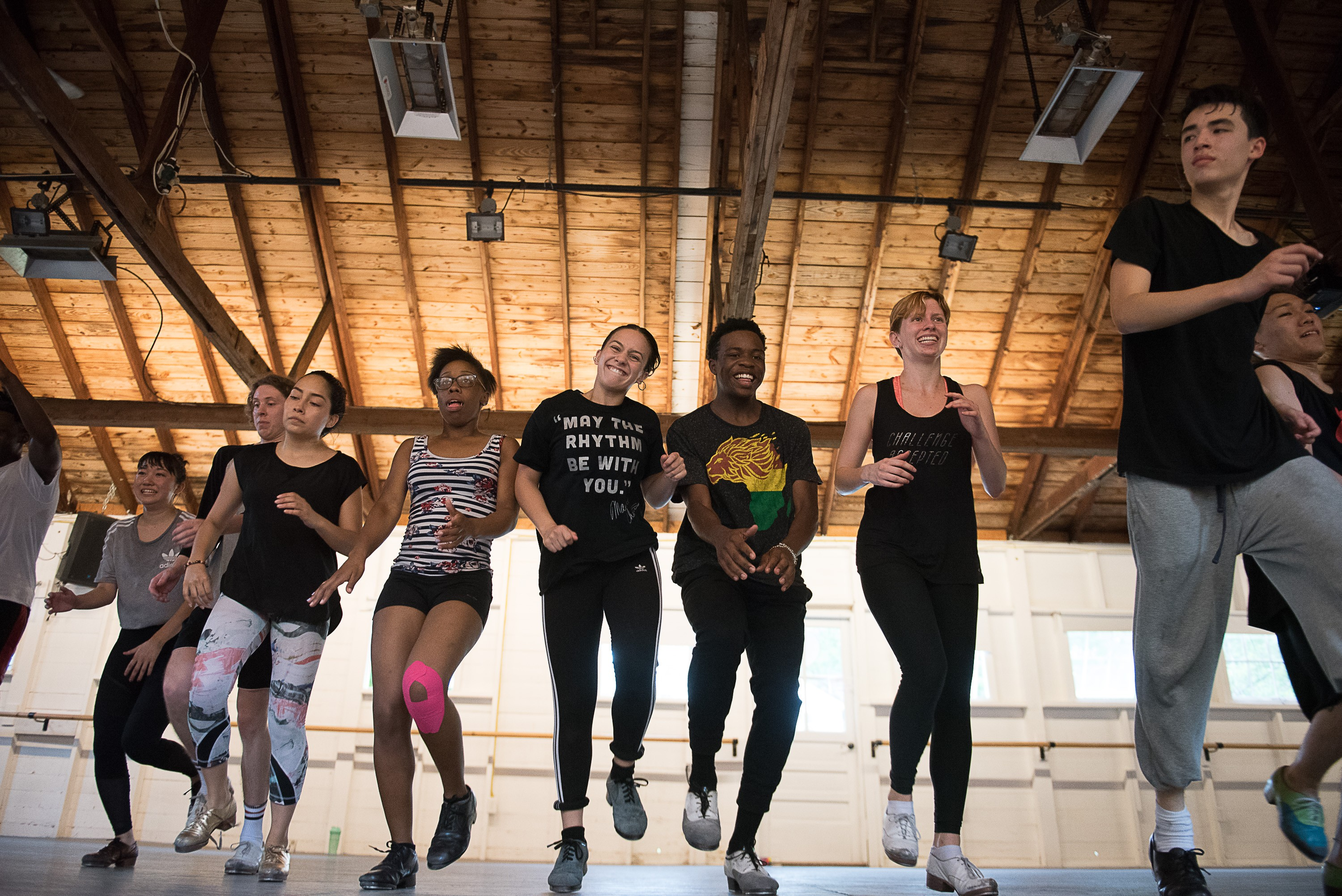 Tap Class with Dormeshia Sumbry-Edwards; photo Christopher Duggan