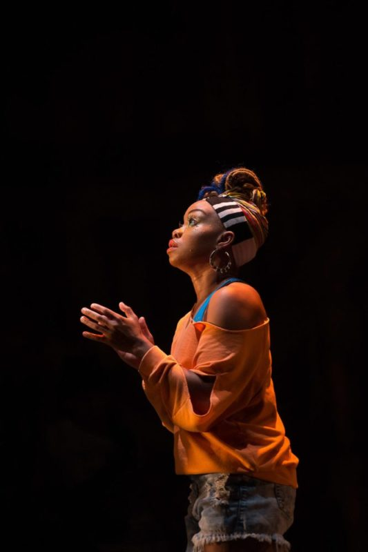 Camille A. Brown, Artistic Director of Camille A. Brown & Dancers; photo Christopher Duggan