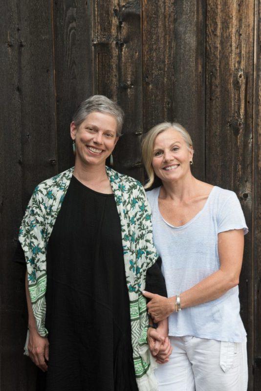 Carolyn Lucas & Diane Madden, Associate Artistic Directors of Trisha Brown Dance Company; photo Christopher Duggan