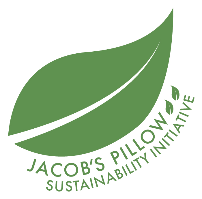 The Jacob's Pillow Sustainability Initiative logo