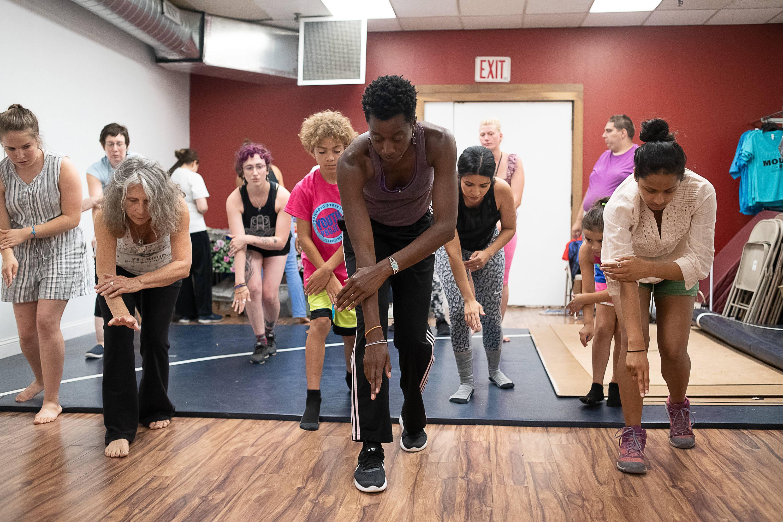 Pittsfield Moves! at Funkbox Studio; photo Christopher Duggan