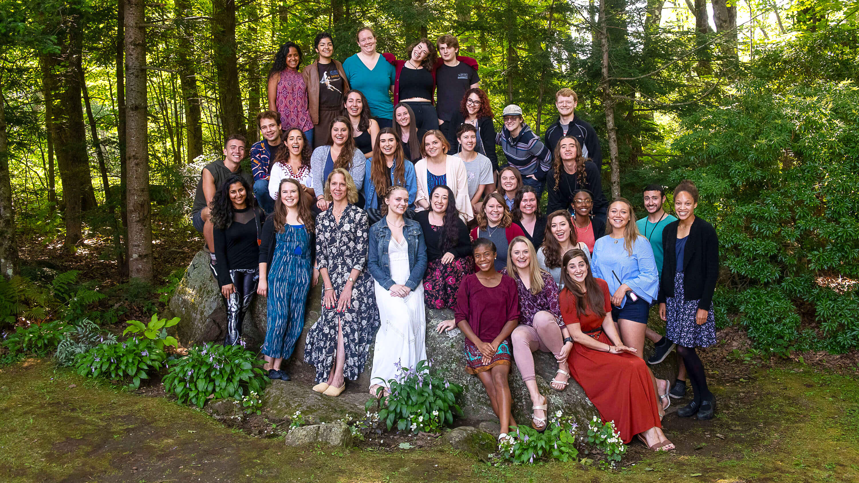 2018 Festival Interns; photo Christopher Duggan