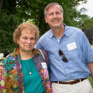 Carol & Bob Braun at the TSC Reception; photo David Dashiell