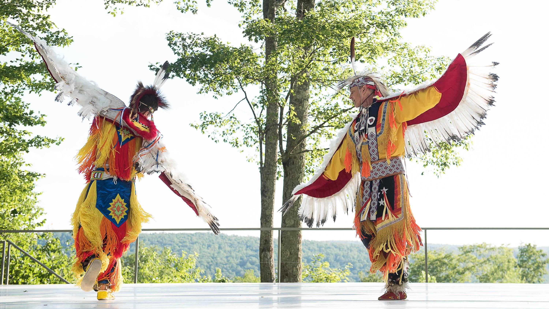 Thunderbird American Indian Dancers; photo Christopher Duggan