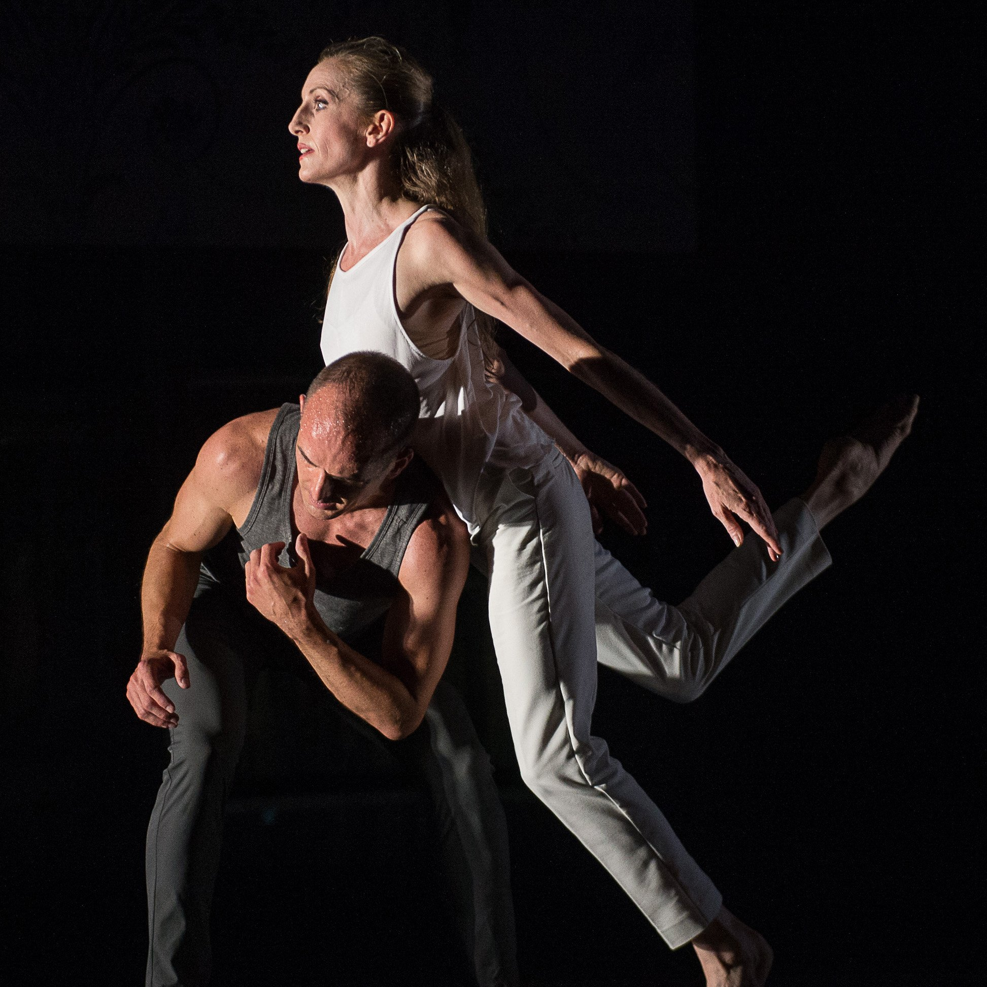 Wendy Whelan & Brian Brooks in 'Some of a Thousand Words'; photo Christopher Duggan