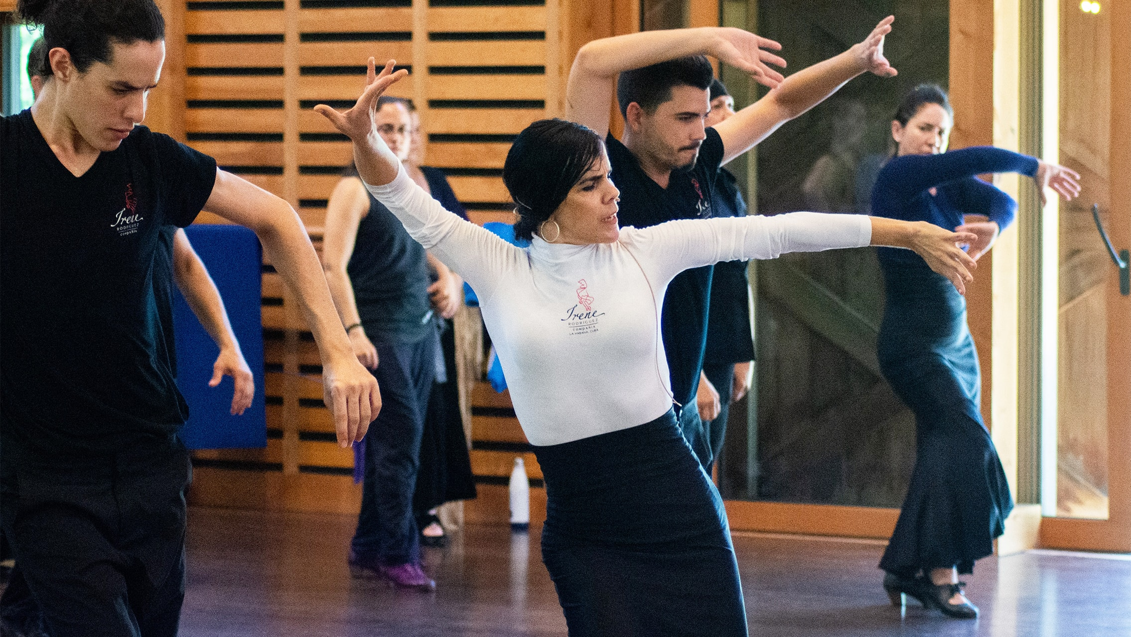 The School Flamenco & Spanish Dance Master Class Compañía Irene Rodríguez_photo Grace Kathryn Landefeld