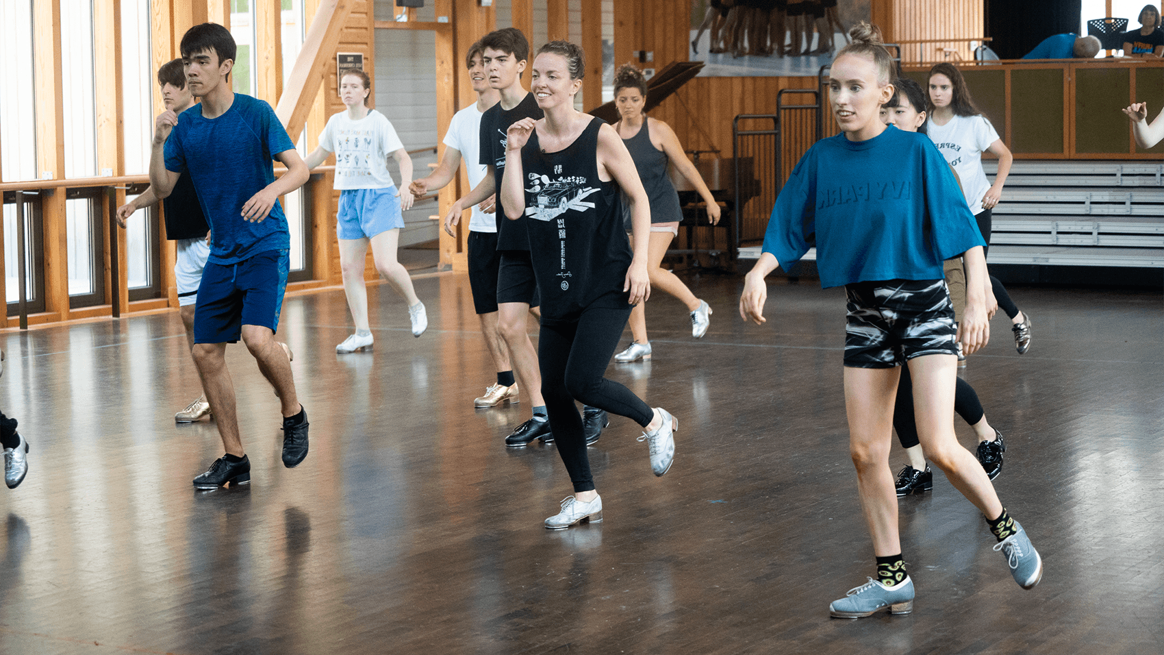 The School Tap Class with Michelle Dorrance; photo Hayim Heron