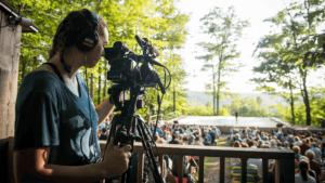 Festival 2019 Video Documentation Intern Andie Knudson; photo Christopher Duggan