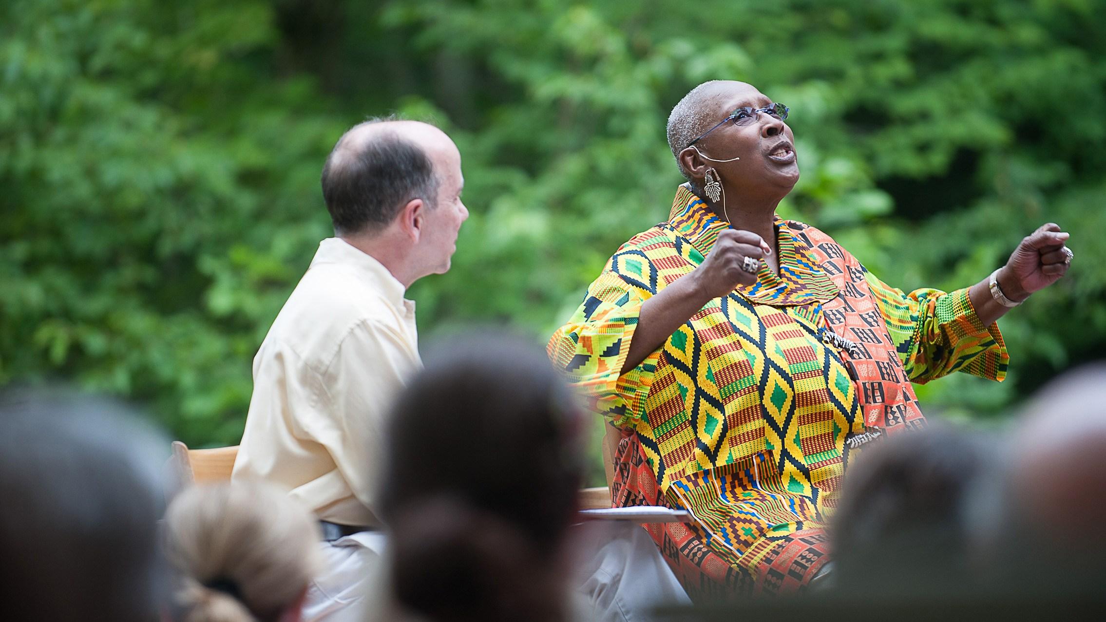 2012 Pillow Talk with Judith Jamison; photo Christopher Duggan.