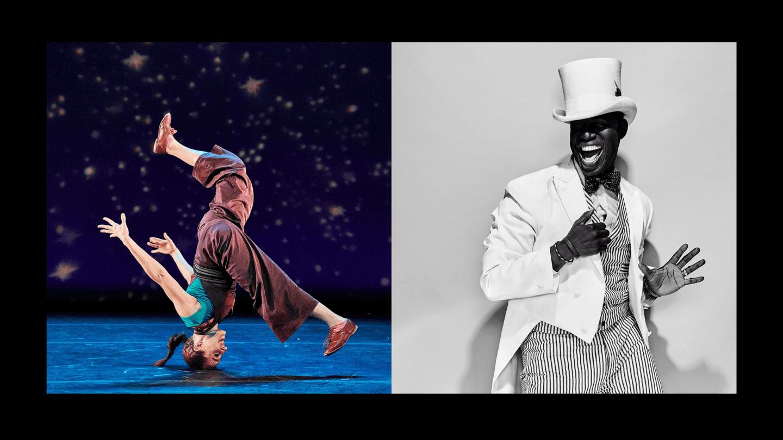 Ephrat Asherie & Archie Burnett; photo Robert Altman & Marcus Koppen