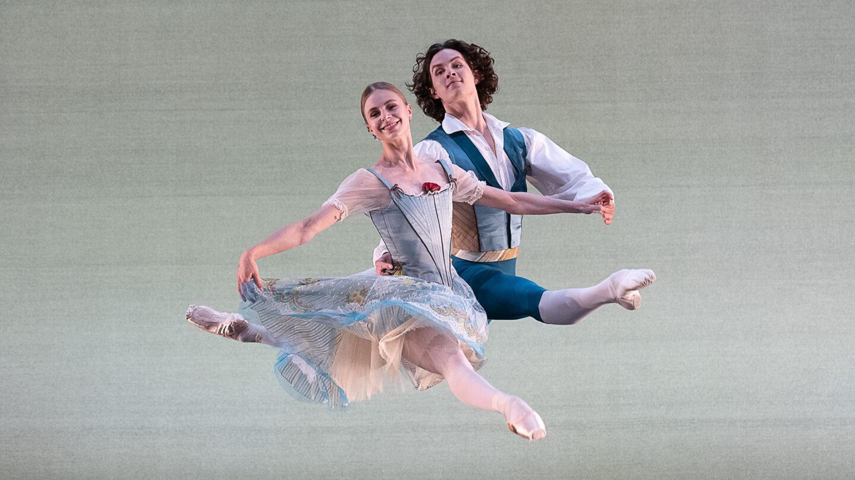 Ida Praetorius and Andreas Kaas of Royal Danish Ballet in August Bournonville's