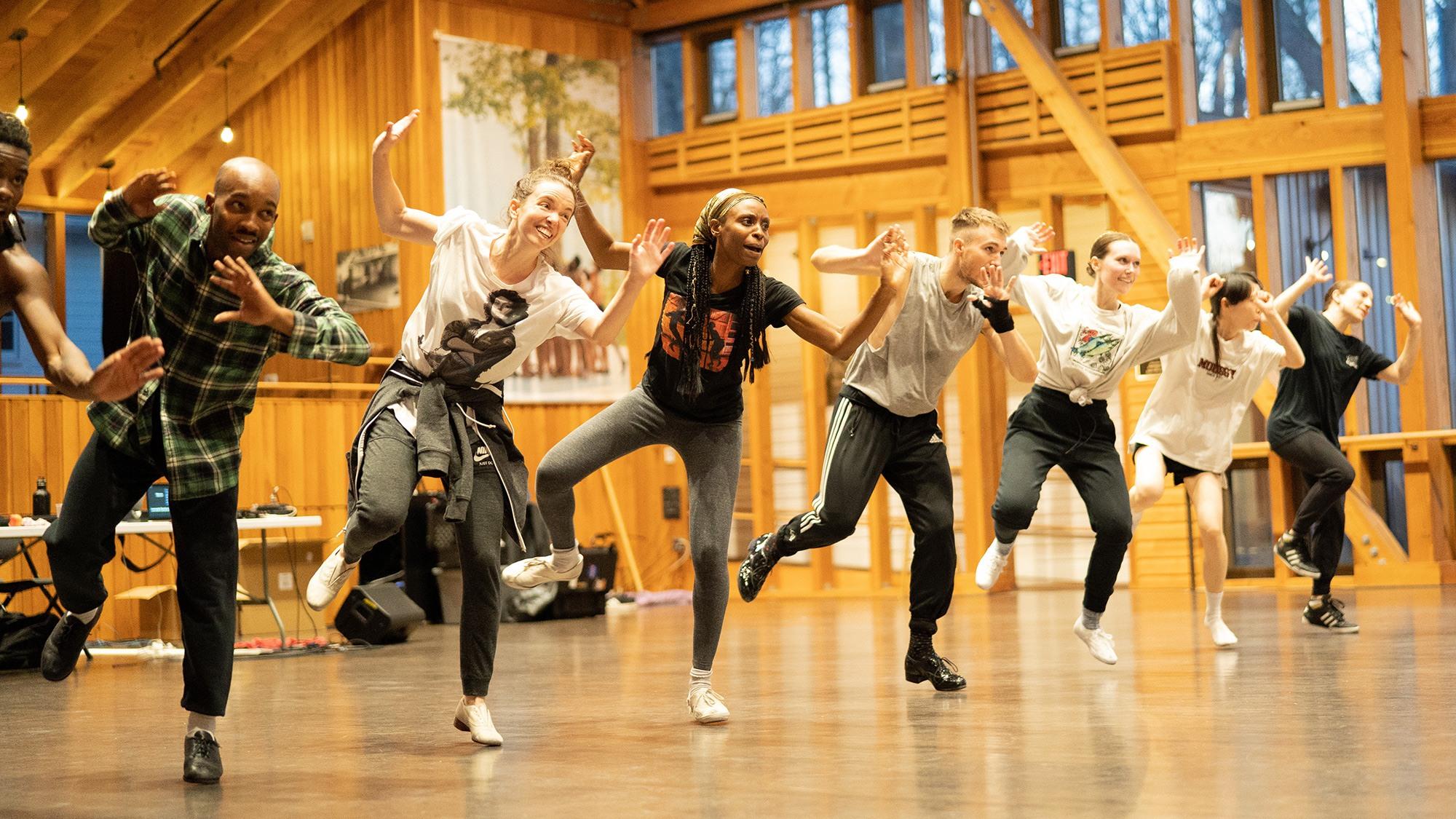 Photo Olivia Maggi, courtesy of Dorrance Dance