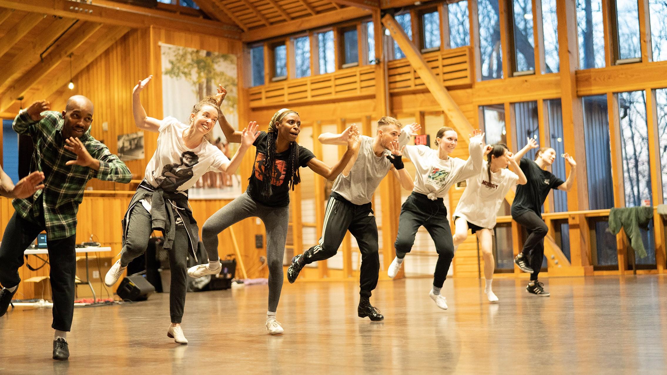 Photo of Dorrance Dance by Olivia Maggi, courtesy of Dorrance Dance