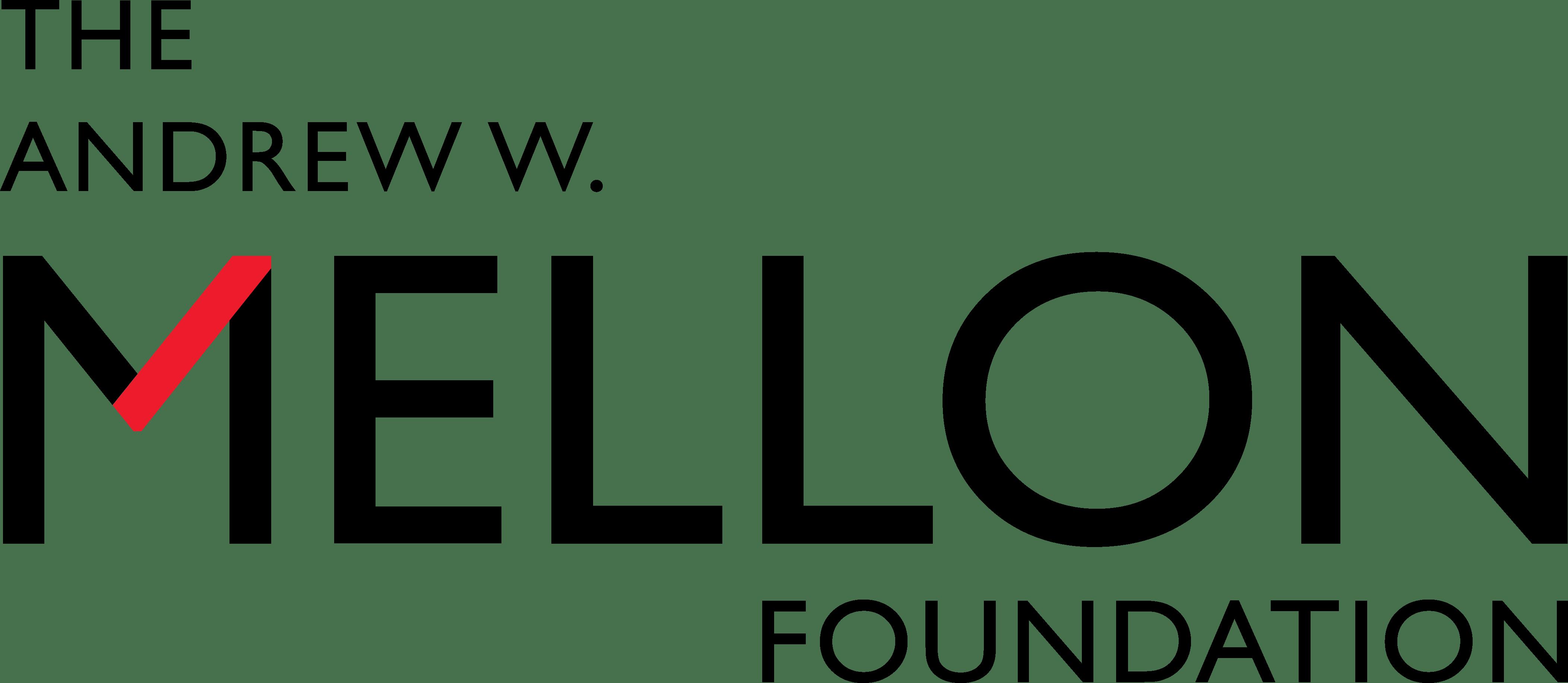Logo: The Andrew W. Mellon Foundation