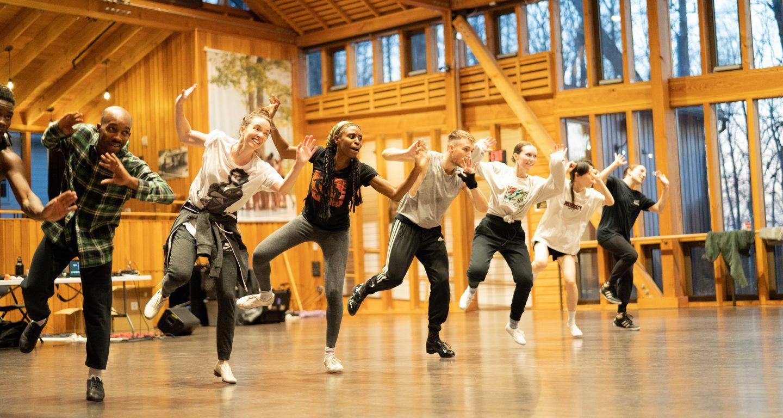 Dorrance Dance; photo Olivia Maggi