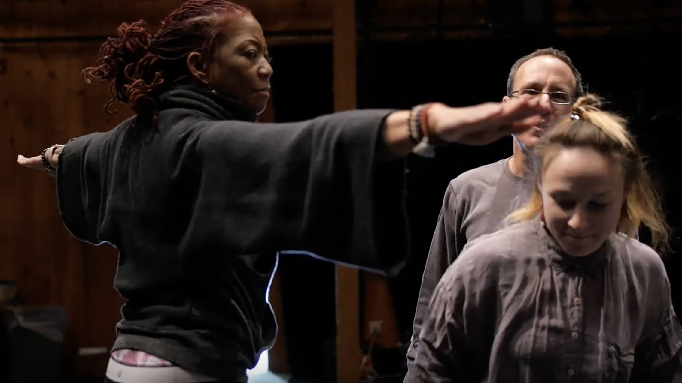 Video still, inaugural convening of Curriculum in Motion® artist educators, March 2018; Great Sky Media.