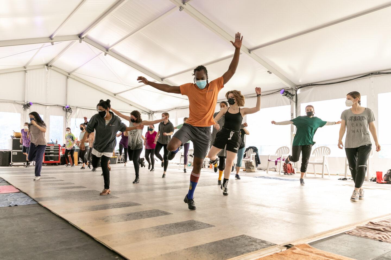 Sunday Workshop with Dorrance Dance; photo Jamie Kraus