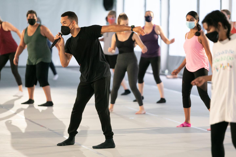 Sunday Workshop with Ballet Hispánico; photo Jamie Kraus