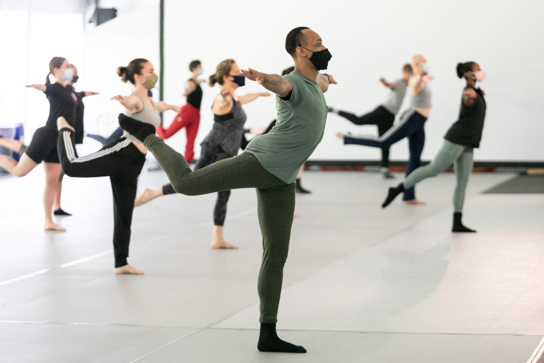 Sunday Workshop with Dallas Black Dance Theatre; photo Jamie Kraus