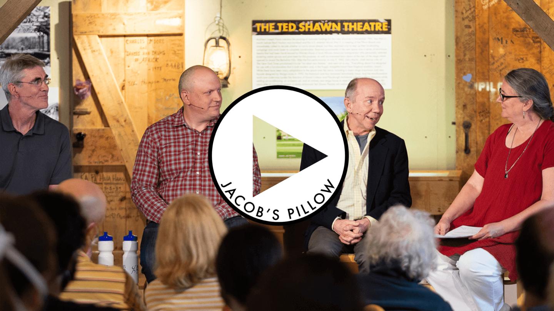 David Croteau, Vincent Vigilante, Norton Owen and Maura Keefe in PillowTalk: Build me a Theatre; Photo Jamie Kraus